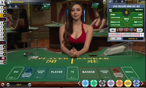 Main Judi Live Casino Online Bisa Pasangan Seribu Rupiah