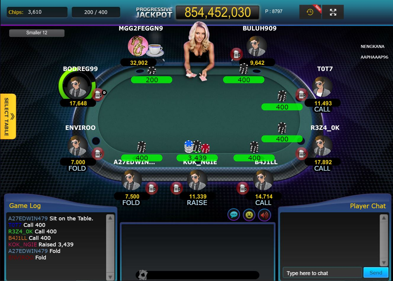 Poker Multiplayer IDNPoker