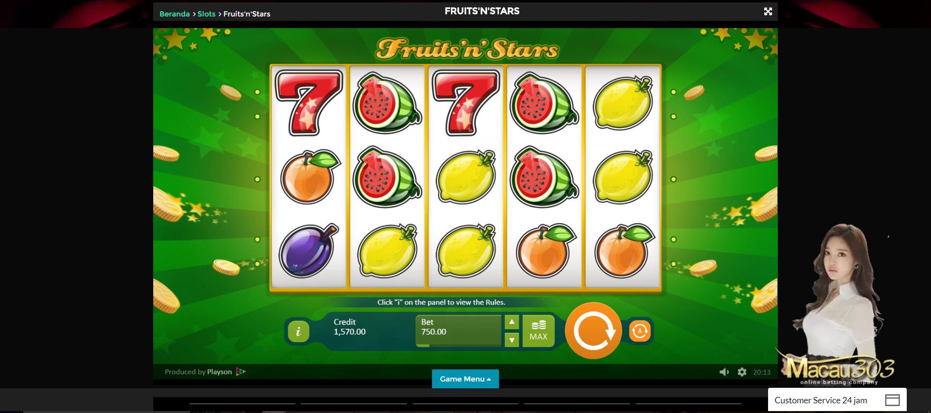 Slot Buah Sebagai Contoh Permainan Casino Online